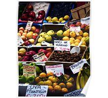 La Frutta al Mercato Poster