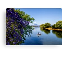Fishing on the Tweed Canvas Print