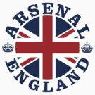 Arsenal Vintage Style British Flag by FlagCity