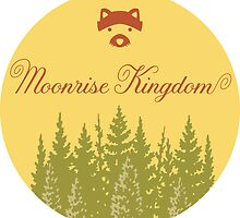 Moonrise Kingdom - Sticker by Zach Moore