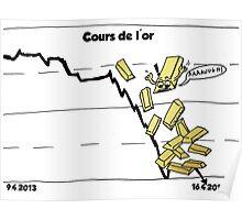 La chute d'or comique Poster