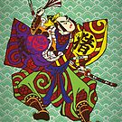 Samurai vintage japan painting style by thejoyker1986