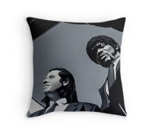 Jules and Vincent Throw Pillow