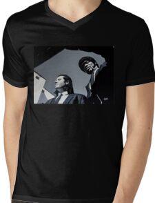 Jules and Vincent Mens V-Neck T-Shirt