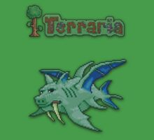 Terraria Duke Fishron Baby Tee