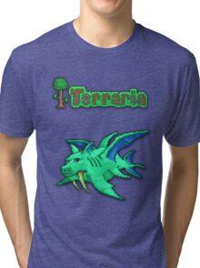 Terraria Duke Fishron Tri-blend T-Shirt