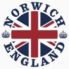 Norwich Vintage Style British Flag			 by FlagCity