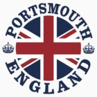 Portsmouth Vintage Style British Flag by FlagCity