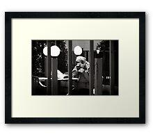 plein-air Framed Print