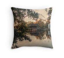 Philipsburg Manor, Sleepy Hollow, NY, USA Throw Pillow