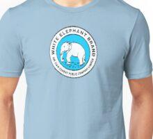 White Elephant - Blue Unisex T-Shirt
