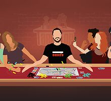 Tabletop Last Supper by Wayne Dorrington