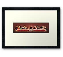 Tabletop Last Supper Framed Print