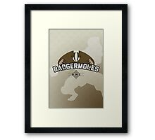 Ba Sing Se Badgermoles Framed Print