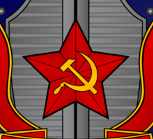 KGB Shield 1 Sticker