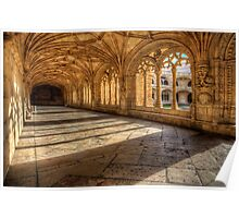 Monastery dos Jeronimos Cloisters Poster