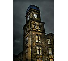 Newsome Mills Clock tower Photographic Print