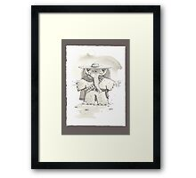For a trunkful of Peanuts Framed Print