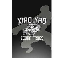 Xiao Yao Zebra Frogs Photographic Print