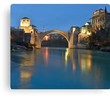 Stari Most Canvas Print