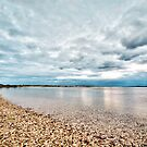 Sheltered Shore by John Sharp