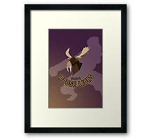 Makapu Moose Lions Framed Print