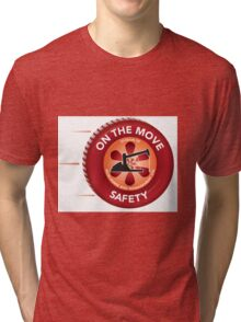 On the Move Safety Tri-blend T-Shirt