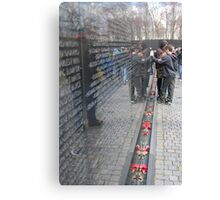 vietnam war memorial, washington dc Canvas Print