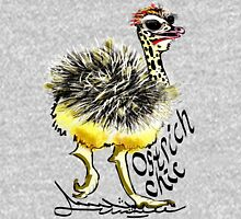 Ostrich Chick is chic, 'struthio! Unisex T-Shirt