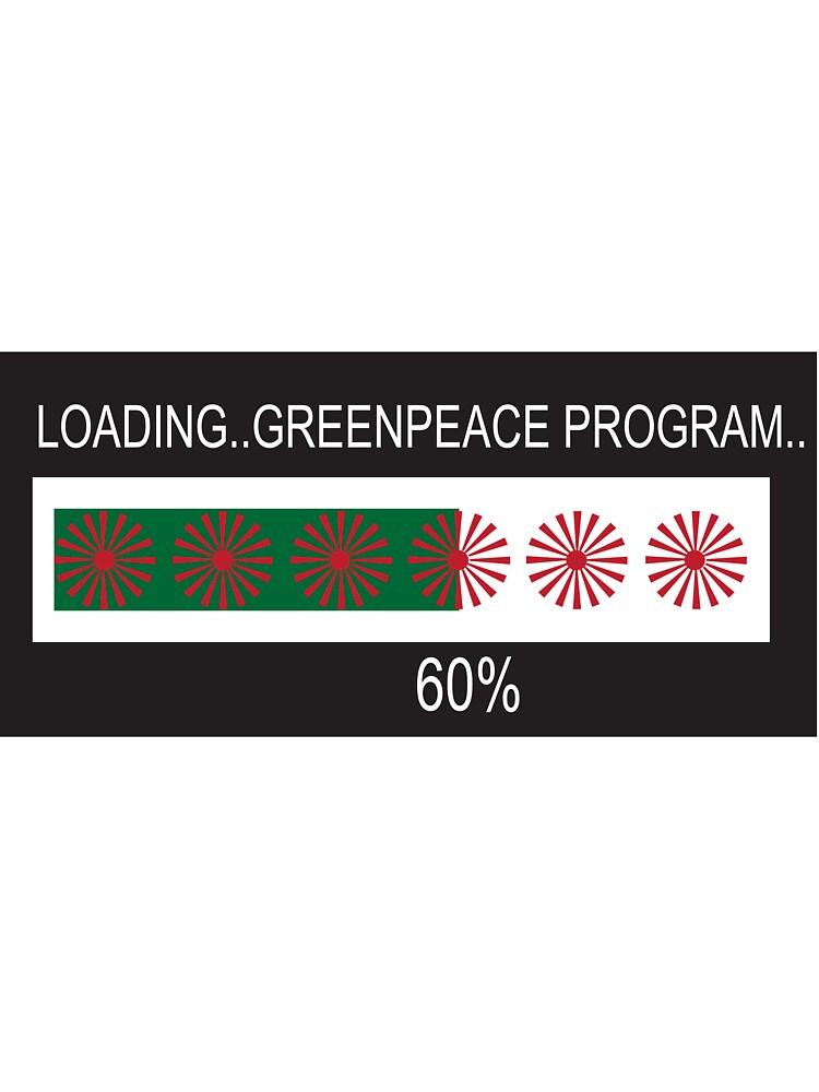 RAM Design: Loading Greenpeace Plate #57 by RandomMemory