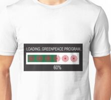 RAM Design: Loading Greenpeace Plate #57 Unisex T-Shirt