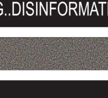 RAM Design: Loading Disinformation #58 Sticker