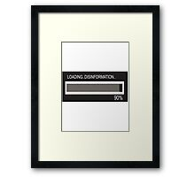 RAM Design: Loading Disinformation #58 Framed Print