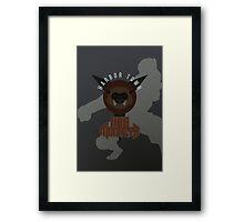 Harbor Town Hog Monkeys Framed Print