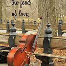 If Music Be The Food Of Love by Kezzarama