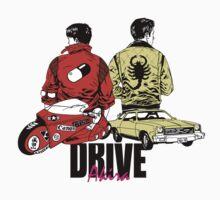 Drive x Akira by kscully
