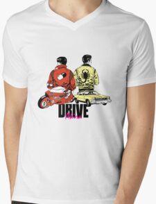 Drive x Akira Mens V-Neck T-Shirt