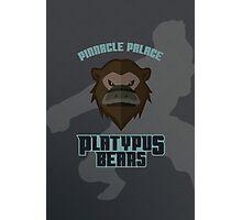 Pinnacle Palace Platypus Bears Photographic Print