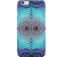 Bending Blue iPhone Case/Skin