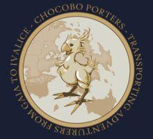 Chocobo Porters by StrawberryMo