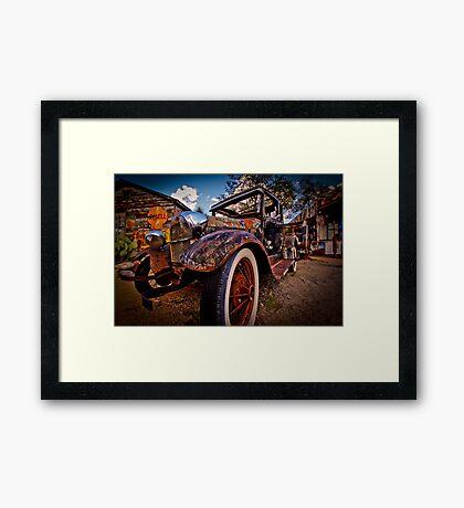 Rusted Oldtimer Framed Print