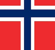 Smartphone Case - Flag of Norway - Vertical by Mark Podger