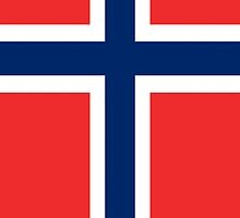 Smartphone Case - Flag of Norway - Vertical by Mark Podger