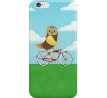 Owl Bicycle iPhone Case/Skin