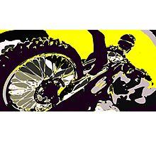 Motocross Photographic Print