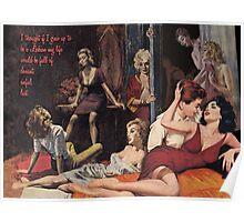 Pulp Novel Fantasy Poster