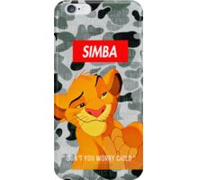 Simba Supreme iPhone Case/Skin