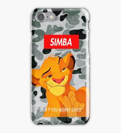 Simba Supreme iPhone Case/Skin