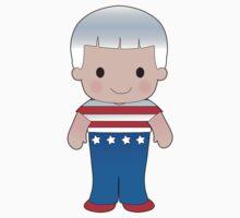 Poppy American Boy Kids Tee