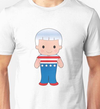 Poppy American Boy Unisex T-Shirt